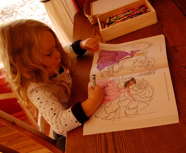 M coloring book