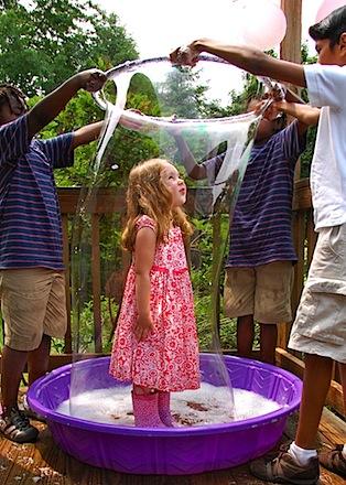 human bubble 6