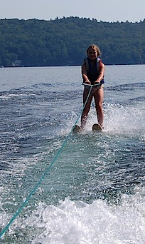 G waterski Sadie