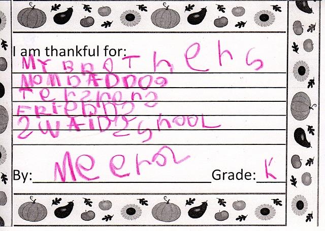 M Thankful