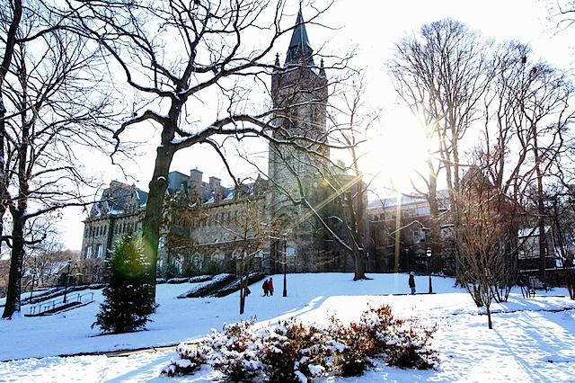 UC snow