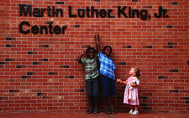MLK Center- sign