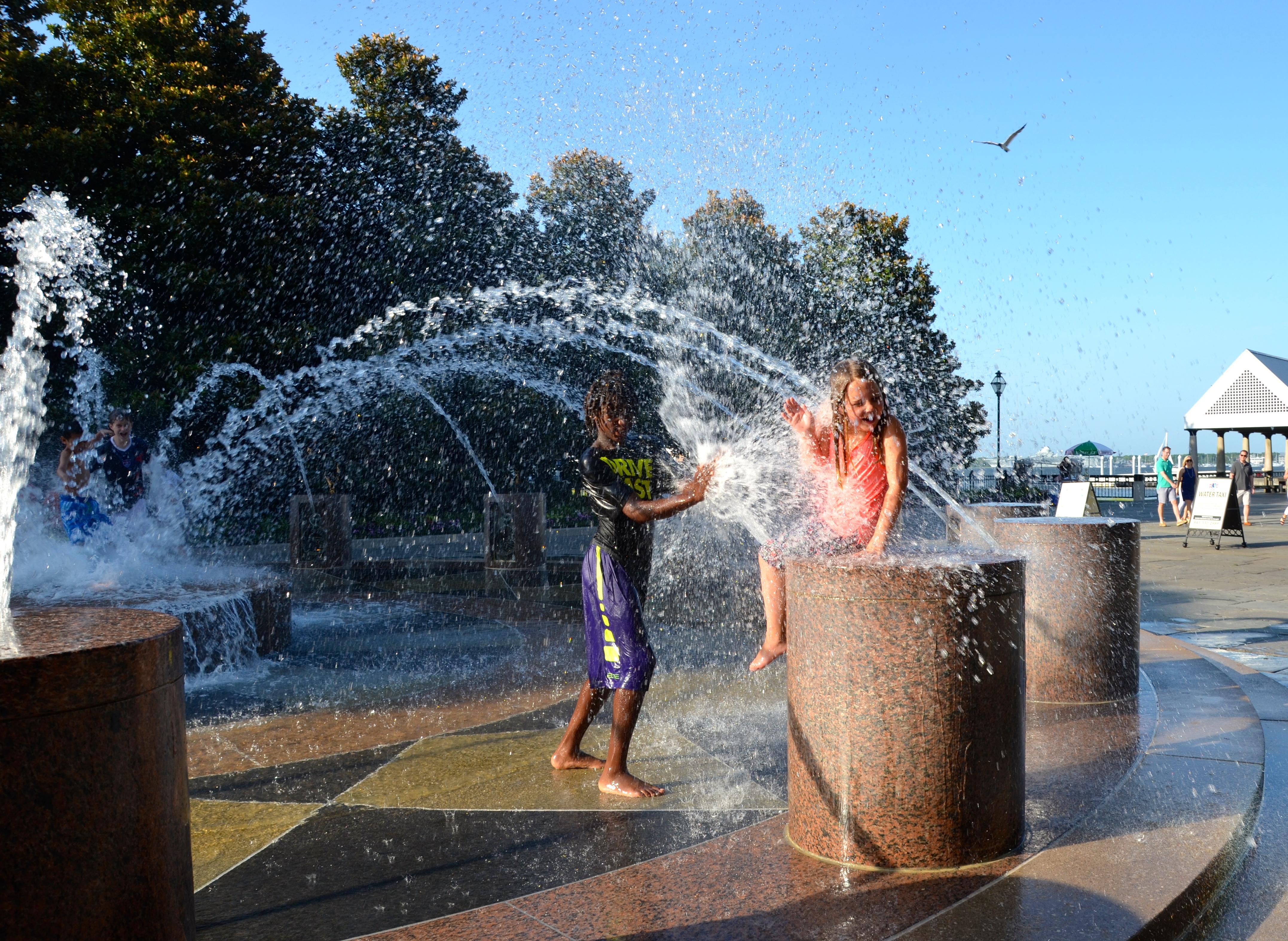 Charleston fountains